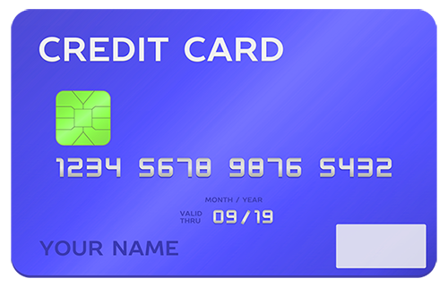 Credit Card Take A Voucher